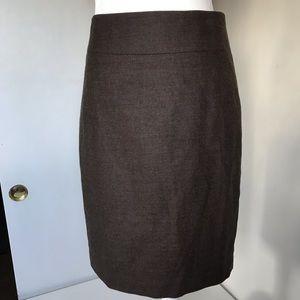 Banana republic stretch wool blend  pencil skirt